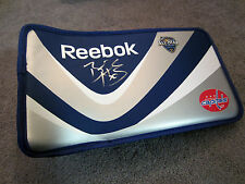 BRADEN HOLTBY Washington Capitals SIGNED Autographed Reebok Goalie Blocker COA