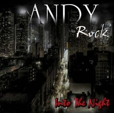 """ANDY ROCK """"INTO THE NIGHT"""" Cd Wild Rose Toto Harem Scarem Aor"""