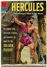 Hercules 1006 VG- 3.5 1959 Dell Four Color Movie Classic Painted Cover Buscema