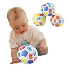 Children Kids Educational Toy Baby Learning Colors Number Rubber Ball Plaything