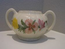 """Gorgeous Vintage 1940's Franciscan """"Wildflower"""" Sugar Bowl without Lid"""