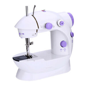 Desktop Electric Mini Sewing Machine with Extension Table 2-Speed for Travel