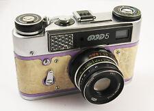 FED 5 Russian Leica Copy Camera Industar-61LD Lens EXC #045633