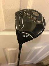 LEFT HAND Cleveland Classic xl Driver 9 Degree ~ Miyazaki stiff Shaft BRAND NEW!