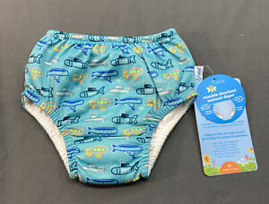 iPlay Teal Swim Diaper With Submarines Size 3T NEW
