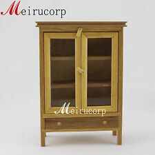 1/12 Scale Miniature Furniture Handcrafted Wooden Lovely Cabinet For Dollhouse