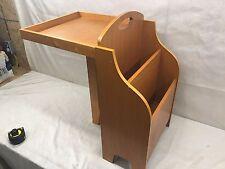 Vintage Side End Lamp Magazine Folding Table