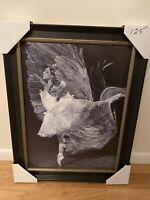 Julio Cesar Delgado Dance of the Birds 5 Fine Art Giclee On Canvas, Hand Signed