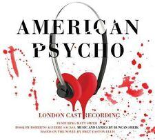 Duncan Sheik - American Psycho (Original London Cast) [New CD]