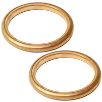 2 Exhaust Pipe Gaskets for Honda ATC350X 1985 1986