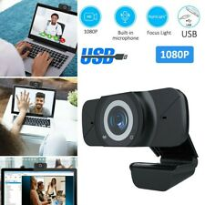 1080P Webcam Built-in Microphone Computer Laptop USB Camera for Remote Teaching