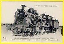 cpa LOCOMOTIVE à vapeur pour TRAIN rapide N° 3184 à Surchauffeur Hélicoïdal