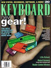 Leslie Simulators, Little Richard, Keith Emerson Equip't, 1995 Keyboard Magazine