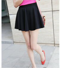 Korean Chic Women Girls Mini Stretch Tight Short Dress  Bottoming Skirts