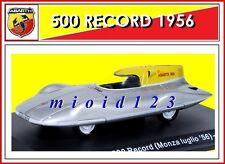 ABARTH COLLECTION : 1/43 - Fiat Abarth 500 Record ( Monza Luglio '56 ) - 1956