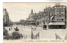 Faidherbe Boulevard - Cambrai Photo Postcard c1905 / LL