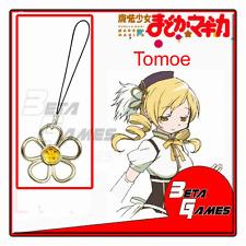 Puella Magi Madoka Magica Cosplay Soul Gem 3 strap Tomoe Mami metal accessories