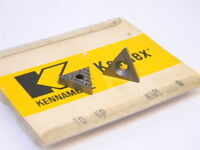 NEW SURPLUS 10PCS. KENNAMETAL  TD 6P GRADE: K4H  CARBIDE INSERTS