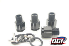 "DGI Extenders 1"" for losi 5 Black"