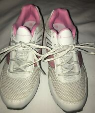 8765651d3976c Brand New Girl s Pink White Champion Sneakers Size 3 1 2 Glitter