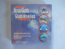2000 ROYAL CANADIAN MINT BOX SET 4 CANADA'S OCEAN GIANTS 50 CENT PIECES SEALED