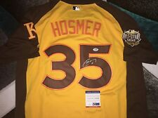 Eric Hosmer Signed 2016 All Star Jersey Kansas City Royals MVP WBC Star PSA