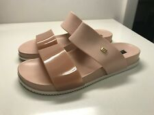 MELISSA Cosmic Sandals Flat Shoes Beige Pink Size 6  37 35 23.5