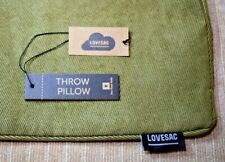 """Lovesac: Gator Microcode Cord Throw Pillow Cover (16""""x24"""") New (Special Edition)"""