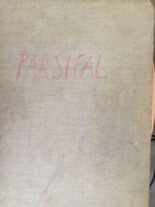 Richard Wagner Parsifal Dirigierpartitur a.d. Nachlass von Hans Zanotelli