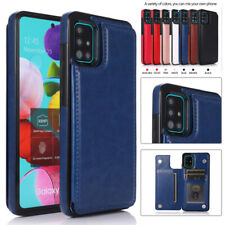 For Samsung S20FE Note 20 Ultra A51 A71 Leather Flip Card Slot Wallet Case Cover