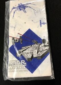 Star Wars Millennium Falcon Tie Fighters X-Wing Paper Table Cover Cloth NEW