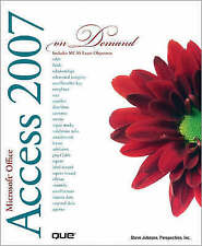 Microsoft Office Access 2007 On Demand-ExLibrary