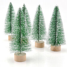 1PC Artificial Mini Christmas Tree Snowflakes Ornament for Home Party Decoration