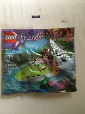 NEW Lego Friends Olivia's Jungle Boat 30115 Polybag set - Jungle