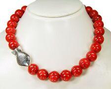 Collar DESDE CORALES espuma con perla INTERMEDIA PEZ