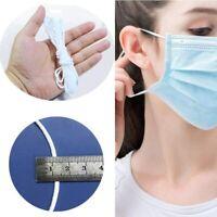 50m Mundschutz Masken elastisches Gummiband rund Gummikordel Wäschegummi