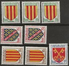 P326- Timbres 1955 n° 1043,46&47x4, 1044x3, 1045x2 **, cote: 4,60€.