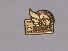 2013 Kentucky Derby Festival Instant Winner Gold Pin