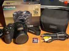Fujifilm FinePix S Series S2800HD 14.0MP Digital Camera - Black + Box  + Case