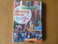 MEETING POINT - Livre d'Anglais 2de (Seconde)