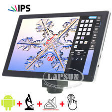 """9.7"""" IPS Touch Screen Android Pad Monitor with C-mount 5.0MP Microscope Camera"""