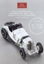 CMC Modellautoprospekt 2010 Mercedes-Benz SSKL 1931 Prospekt brochure model car
