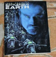 Battlefield Earth Movie Press Kit John Travolta