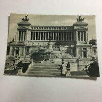 Vintage Postcard Victor Emanuel Monument Rome  R1