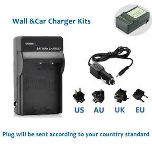Battery Charger Home&Car For CANON PowerShot SX200 SX210 SX220 SX230 HS NB-5L