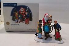 Snow Village Dept. 56 Santa Comes To Town Around the World #5655015 w/box