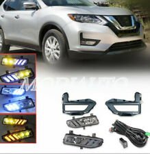 2017-19 2020 for Nissan Rogue DRL Front fog lights Driving Lights Harness switch