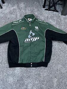 Vtg Nascar Winners Circle Dale Earnhardt Jr Amp Energy Jacket Sprint Cup Size XL