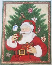 Charlie Brown Christmas Tree 8x10 Quilters and Craft Fabric Block