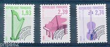 CP - TIMBRE DE FRANCE Préoblitéré N°210 à 212 Neuf **